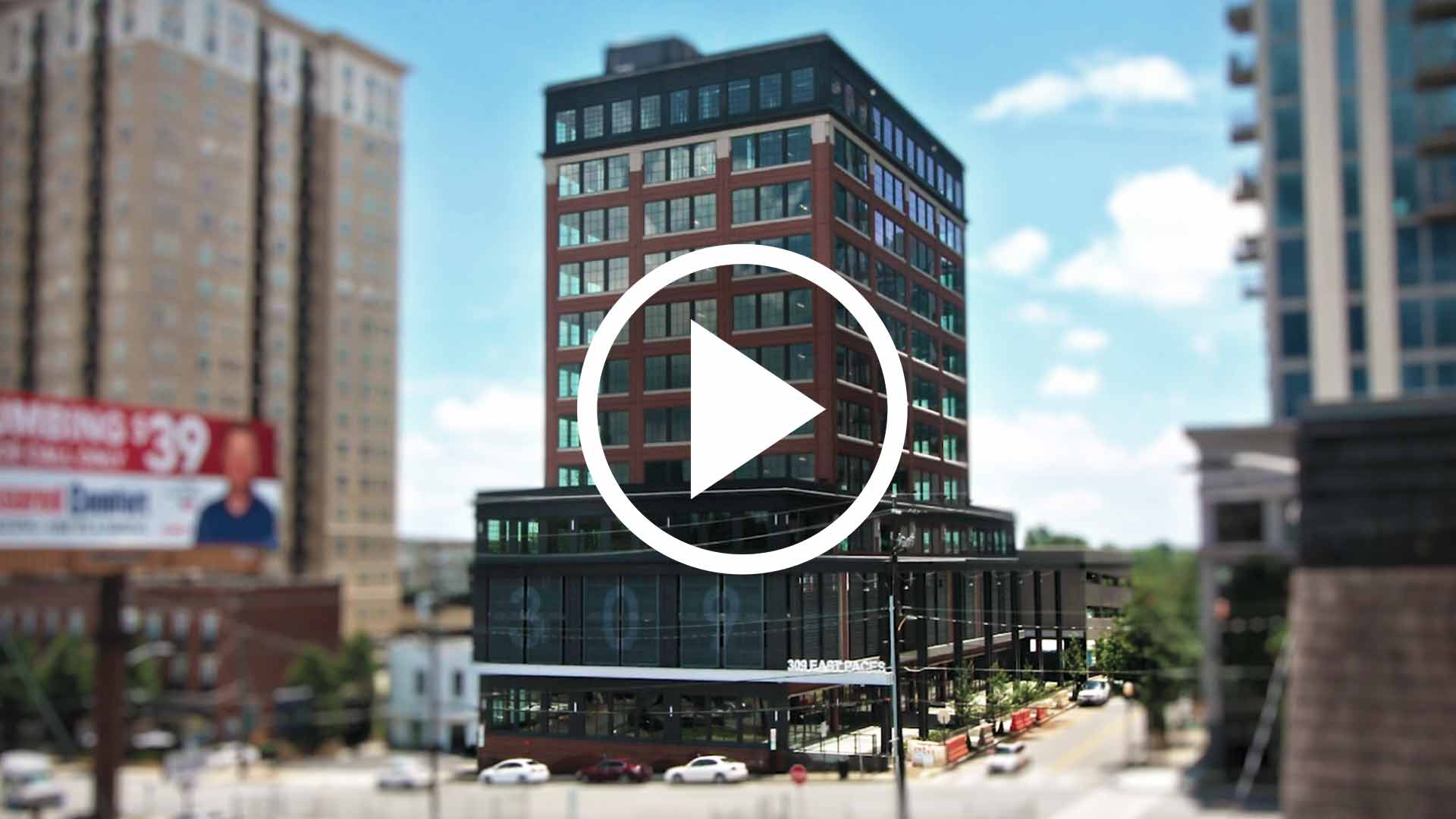 thumbnail for time-lapse video of 309 East Paces mixed-use in Atlanta, GA